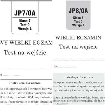 Diagnoza j. Polski 7 i 8 GWO