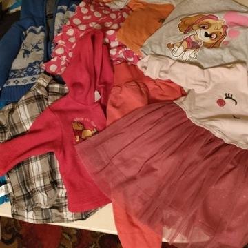 Odzież używana sortowana dziecięca