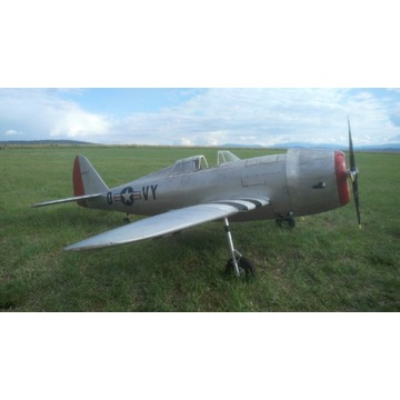 Makieta modelu P-47B rozpiętość 245 cm