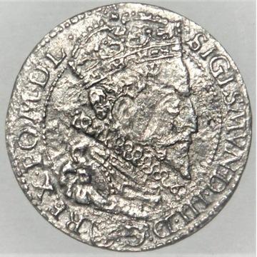 6 Groszy ZYGMUNT III WAZA  1596