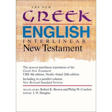 The new Greek-English New Testament Nowy Testament