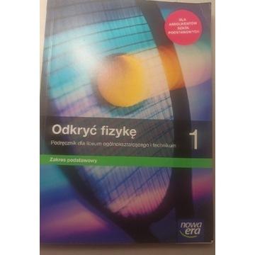 Odkryć fizykę 1 podręcznik zakres podstawowy