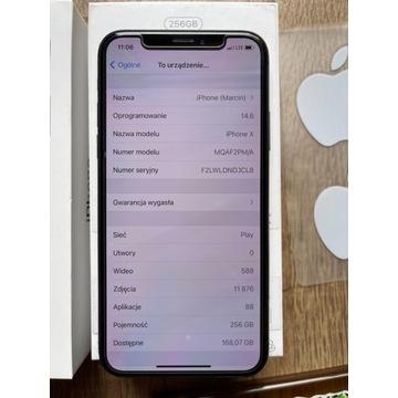 iPhone X 256GB Czarny, licytacja od 1 zł BCM!