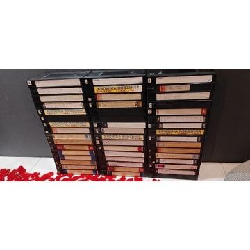 48 kasety wideo Vhs pakiet Okazja Zestaw