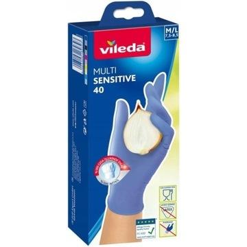rękawiczki nitrylowe M/L