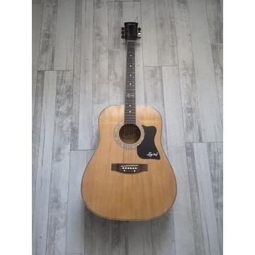 Gitara akustyczna Ever Play + akcesoria
