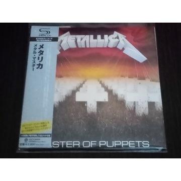 Metallica Master of Puppets Japan SHM (UICY-94664)