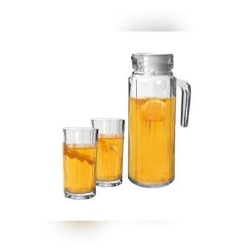Dzbanek + 6 szklanek komplet