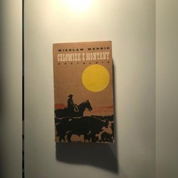 W. Wernic - Człowiek z Montany (1972) AUTOGRAF