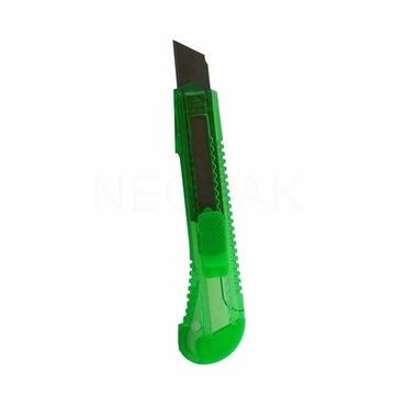 nożyk do tapet 18mm kolorowy 2 szt. wyprzedaż
