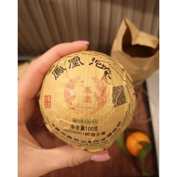 Herbata Sheng Pu-Erh tuocha (gniazdko)