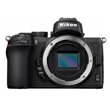 Nowy -300zł Aparat Nikon Z 50 Body CMOS 20,9Mpix