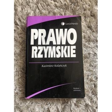 Kazimierz Kolańczyk Prawo Rzymskie