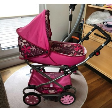 Duży wózek dla lalek- polski producent