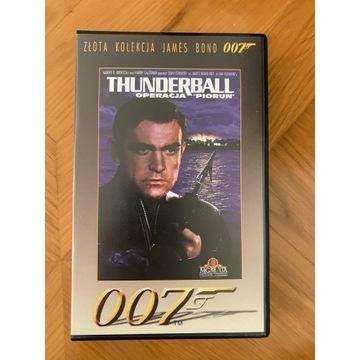 VHS James Bond Operacja Piorun / Thunderball