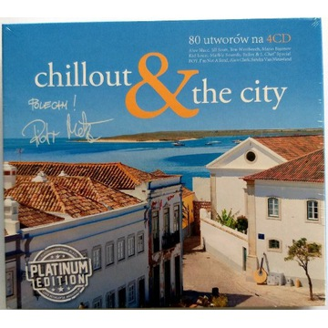 Chillout & The City 4CD PlatinumEdition 2014r Nowa