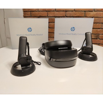 gogle HP Mixed Reality VR  (jak Oculus lub HTC )