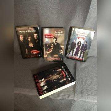 Pamiętniki wampirów 4 szt