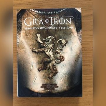 Gra o Tron Sezon 6 DVD Polska Wersja