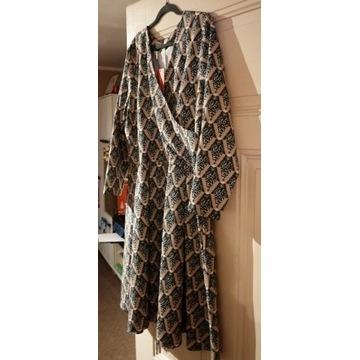 Sukienka kopertowa GRANDIO 54