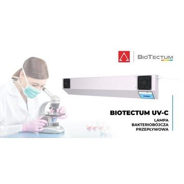 Lampa bakteriobójcza przepływowa UV-C