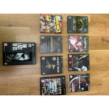 Zestaw gier PS3 Edycje Specjalne