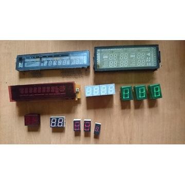 Wyświetlacze VFD i LCD