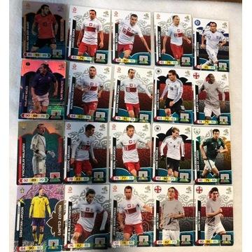 karty piłkarskie Euro 2012