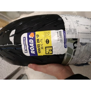 Michelin Road 5 190/55 ZR 17 75W Nowa DOT 3120