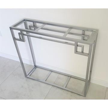 Konsola toaletka stelaż konstrukcja chrom