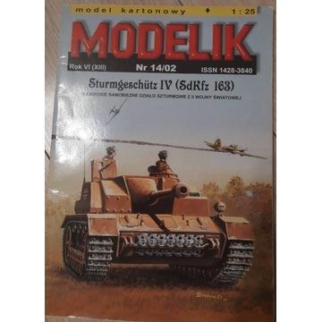 MODELIK STUG IV (SDKFZ 163)