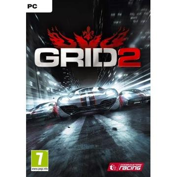 GRID 2 PL + 2 DLC  STEAM KLUCZ / KEY