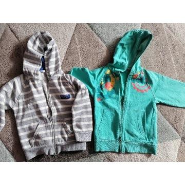 2 bluzy dla chłopca 110 rozm na wiek 4-5 lat