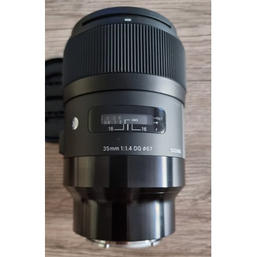 Sigma A 35 mm f/1.4 DG HSM / Sony E