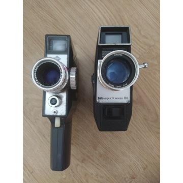 Stara kamera Boots super 8 zoom 110 2 sztuki