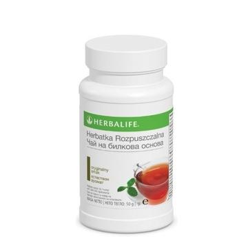 HERBALIFE herbatka rozpuszczalna + kofeina 50g