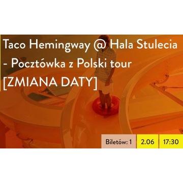 Taco Hemingway, WROCŁAW, 02.06.2020 (1 bilet)