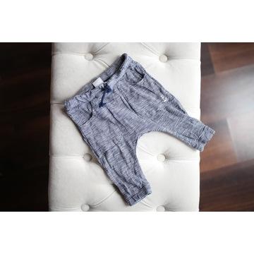 H&M spodnie materiałowe 68