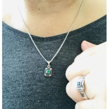 Kruk komplet srebrnej biżuterii