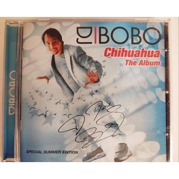 DJ BOBO Chihuahua album + autograf 2003 rarytas