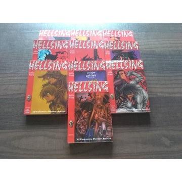 Hellsing komplet manga 10 tomów