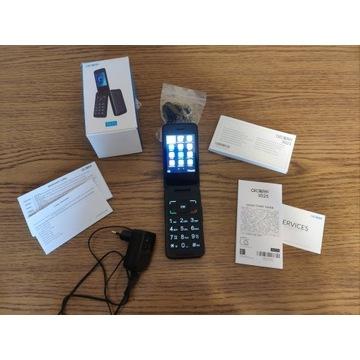Alcatel 30.25 Srebrny Telefon dla seniora jak nowy