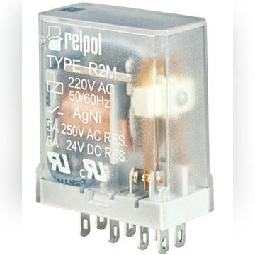 Przekaźnik R2M cewka 24VDC Relpol