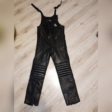 spodnie skórzane