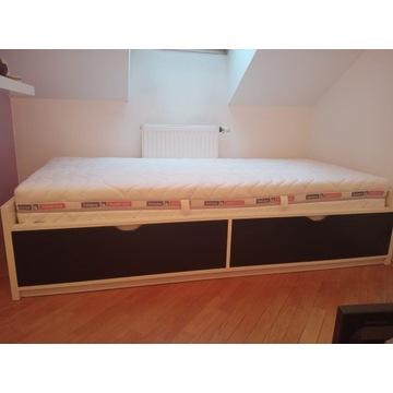 Łóżko 90x200 z materacem