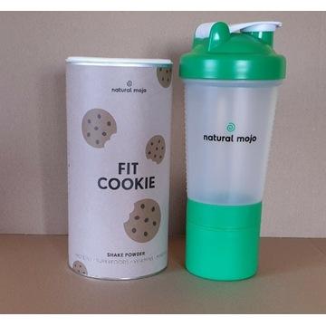 NATURAL MOJO SHAKE - Zestaw Fit Cookie + shaker