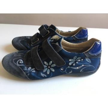 Buty trzewiki na jesien skora NATURINO r 32