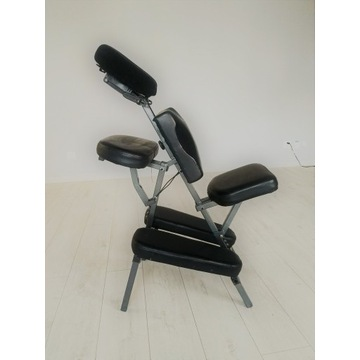 Przenośne krzesło fotel do masażu tatuażu
