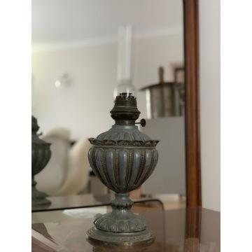 Stara lampa naftowa, cynkal , nieodnawiana ,