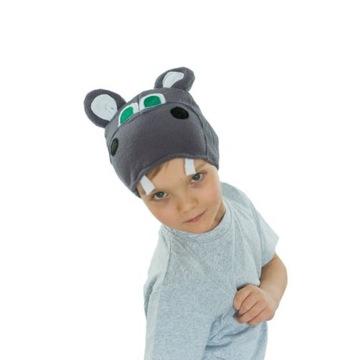 Hipopotam czapka hipopotama